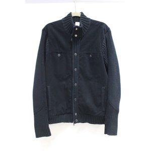 Armani Exchange men's large full zip snap jacket